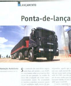 Novo Iveco Tector na revista AUTODATA