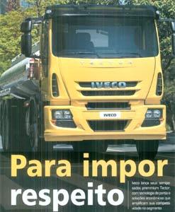 Novo Iveco Tector na NT Negócios em Transporte