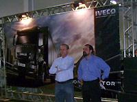 Sérgio Trevisol, proprietário da Ellenco, e César Quaresma