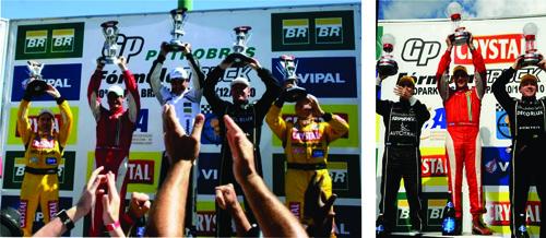 Beto Monteiro conquistou segundo lugar no pódio no Campeonato Sul-Americano e Brasileiro de Fórmula Truck 2010 em dezembro. E primeiro lugar na etapa de Porto Alegre.