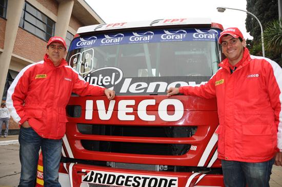Scuderia Iveco visita fábrica de Córdoba, na Argentina valmirebeto