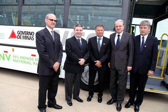 BH recebe ônibus Iveco movido a GNV 24 10 Entrega Eurorider