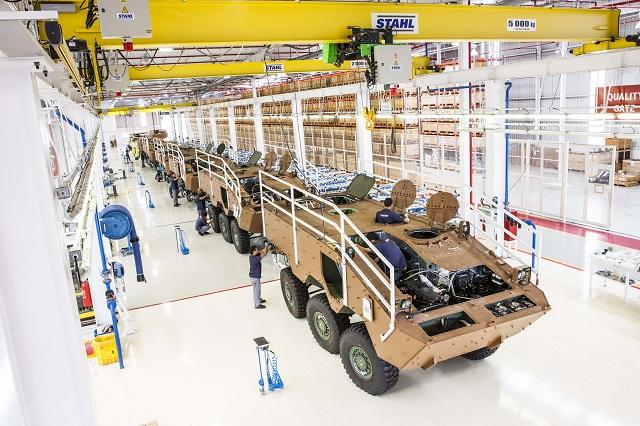 A planta de defesa criou 350 empregos diretos e 1400 indiretos.