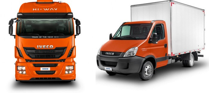 Iveco Daily e Iveco Hi-Way na Coopavel 2015