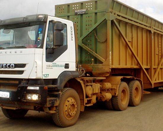Grupo sucroalcooleiro compra 12 Trakker para o transporte de cana