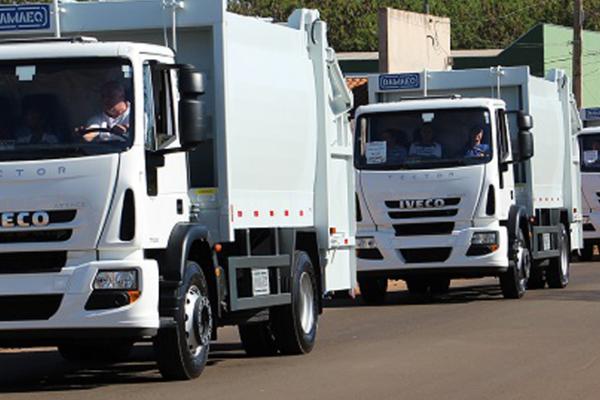 Tecnologia dos caminhões Iveco conquista Prefeitura de Leme