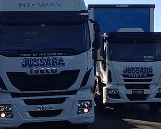 Iveco aumenta participação na frota da Laticínios Jussara