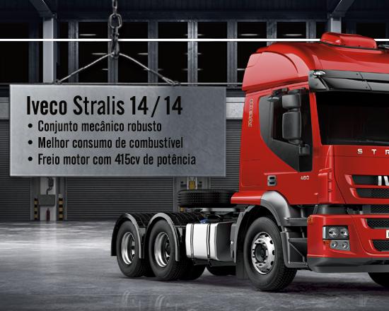 Iveco Stralis se destaca por ser robusto e potente nas estradas